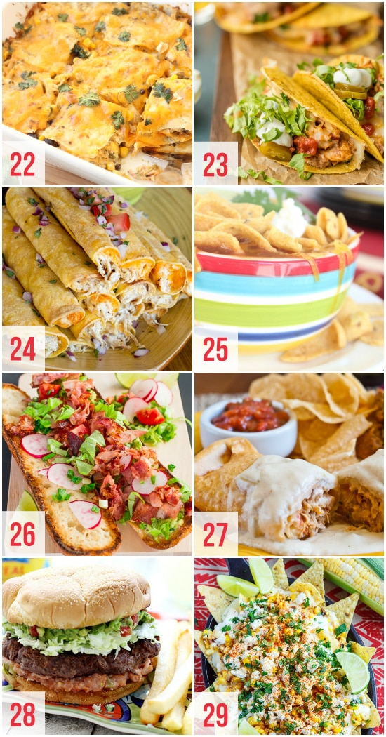 Dinner Ideas for Cinco de Mayo