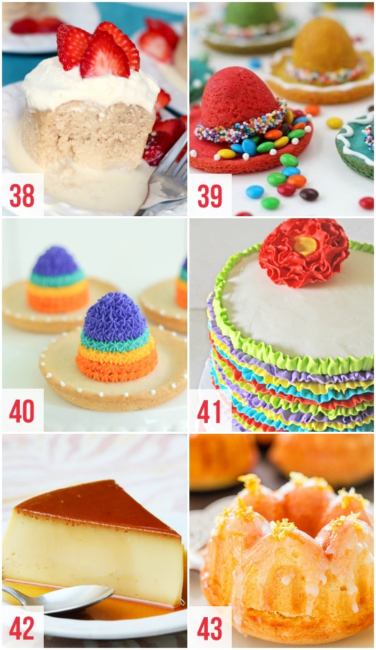 Colorful Cinco de Mayo Desserts