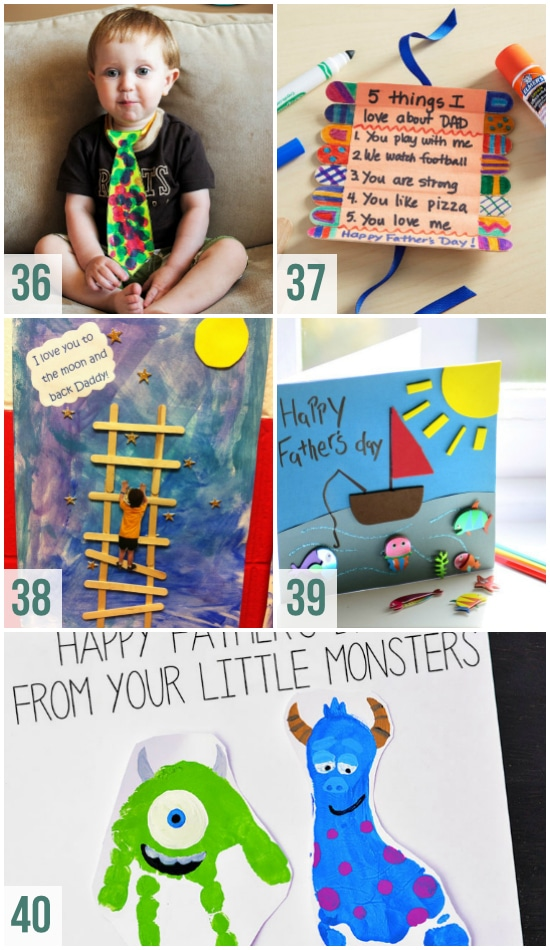 Crafts and Card Ideas for Father's Day