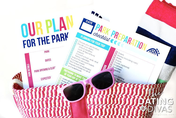 Amusement Park Organizer Pack
