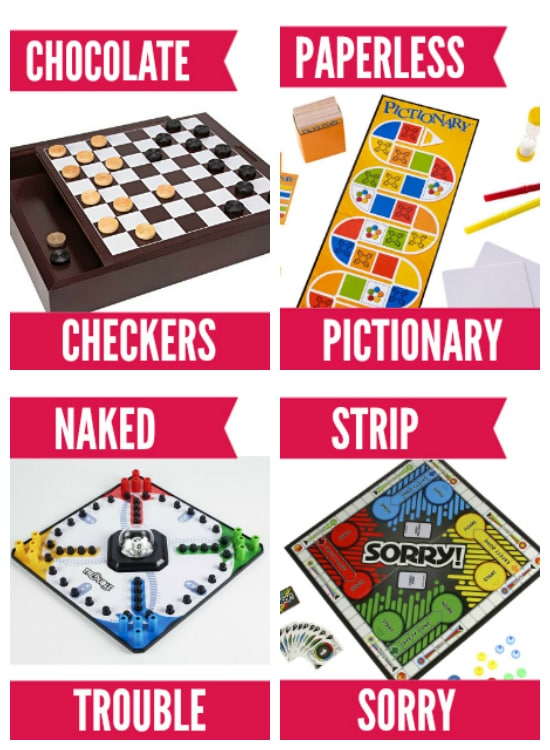 Board Games Turned Bedroom Games for Adults