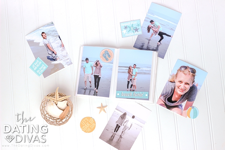 Beach Date Album Embellishments