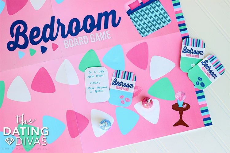 Bedroom Board Game for Two