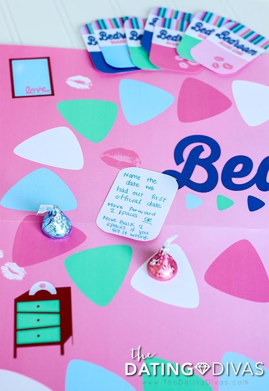 Diy Bedroom Board Game The Dating Divas