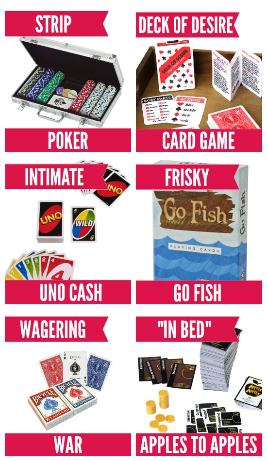 Card Games for the Bedroom