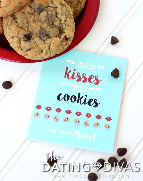 Easy Love Idea for Chocolate Chip Cookie Day