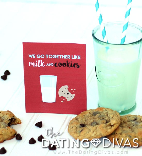 Chocolate Chip Cookie Day Milk and Cookies