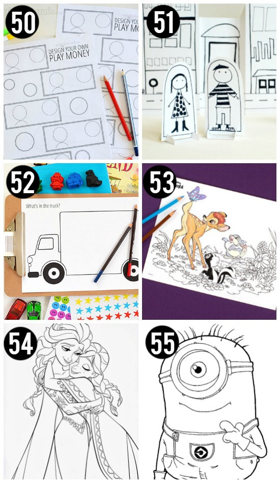 Coloring Printables For Kids