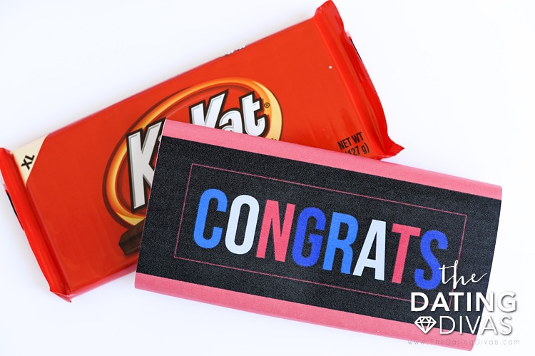 Free Printable Congratulations Candy Wrappers