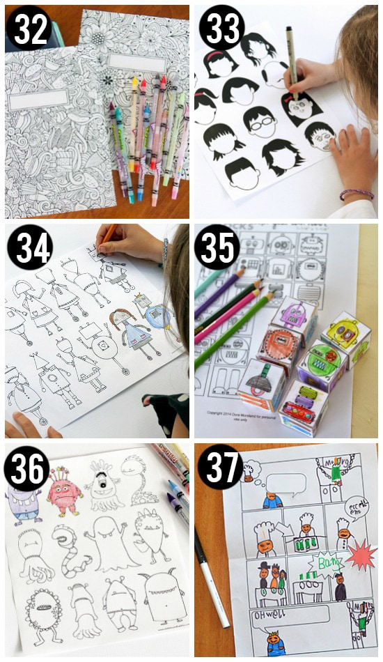 Coloring And Drawing Free Printables For Kids