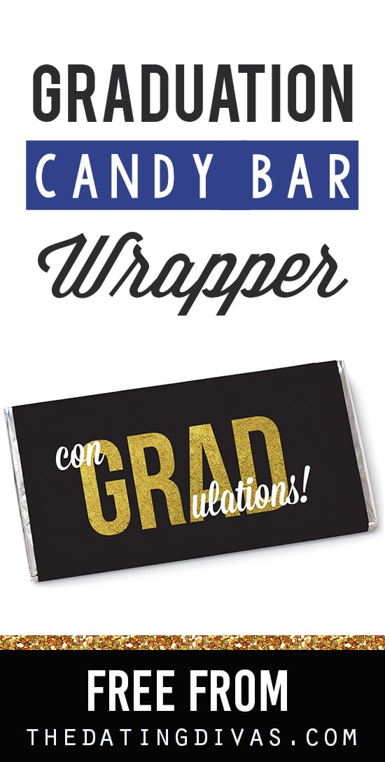 Free Printable Graduation Candy Wrappers
