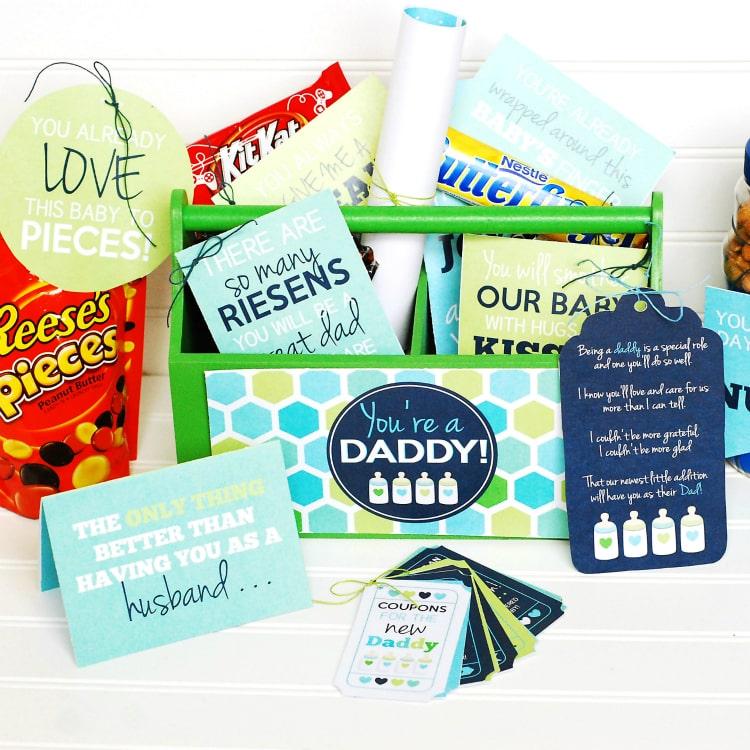New Dad Gift Basket - The Dating Divas