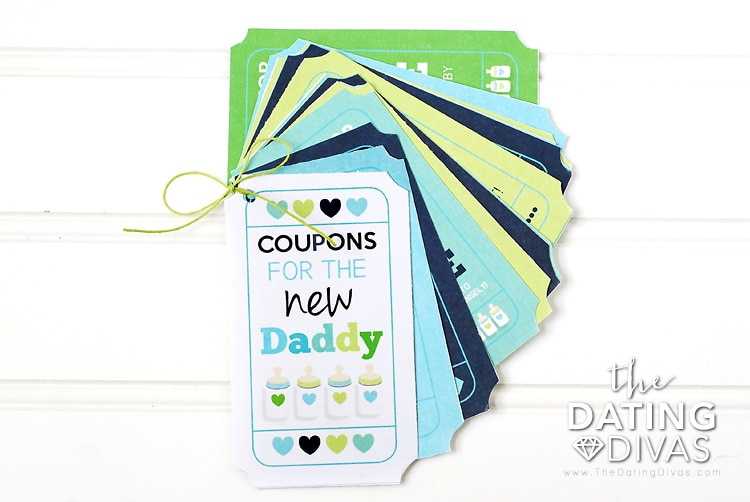 New Dad Coupon Gift