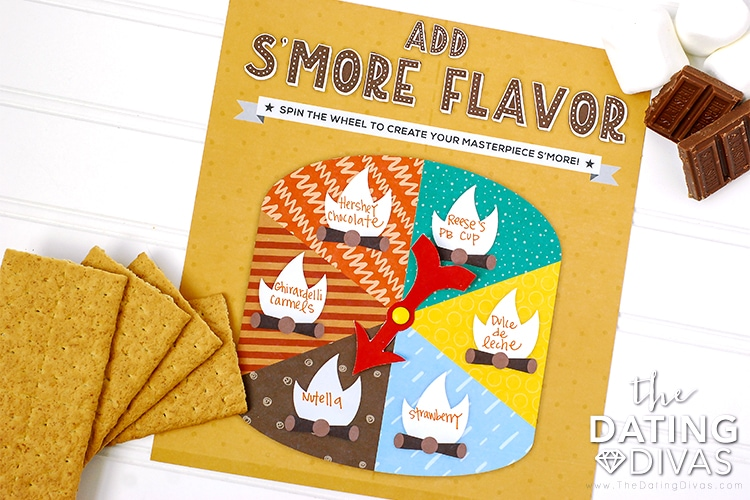 Free Printable Smores Bar Flavor Game