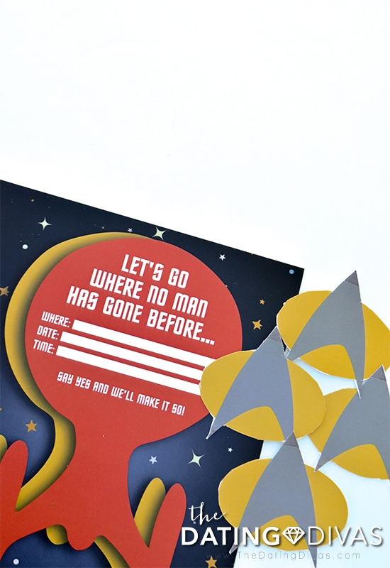 Star Trek Date Night Invitation.