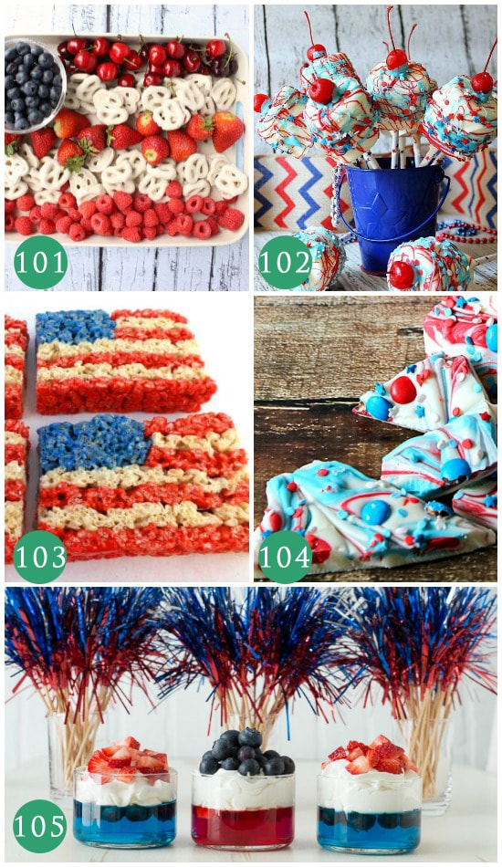 Food Ideas for the Fourth of July