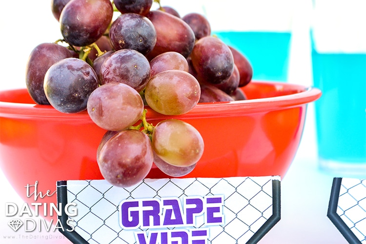 UFC Fight Night should have some nutrition - toss in some Grape Vine for date night.