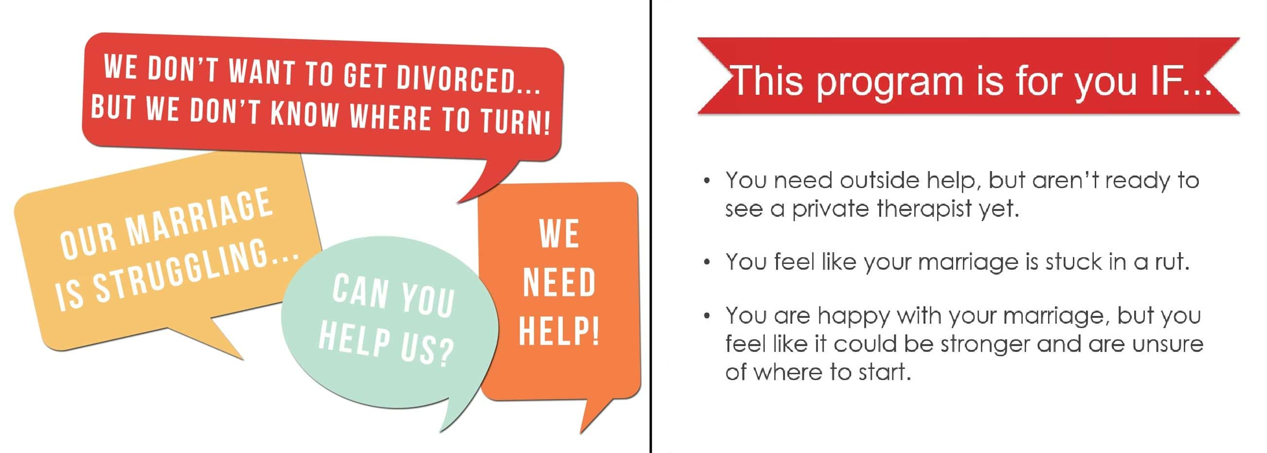 Do You Want to Divorce-Proof Your Marriage?