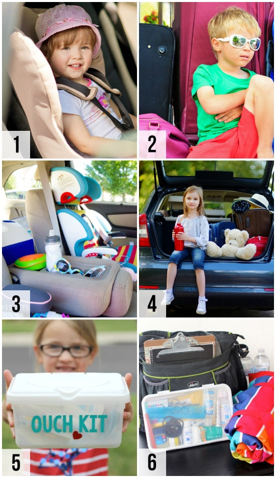 Road Trip Travel Tips with Kids