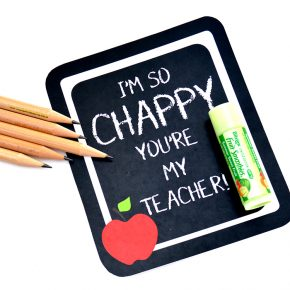 Perfect first day of school gift - easy and cute!