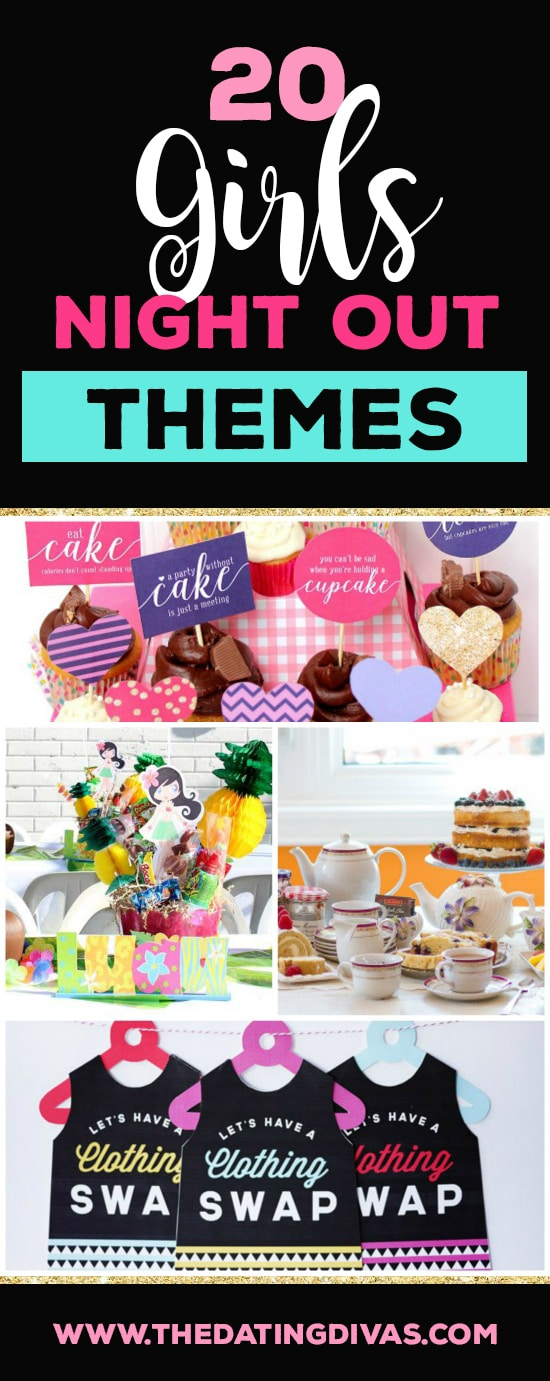 20 Girls Night Out Themes