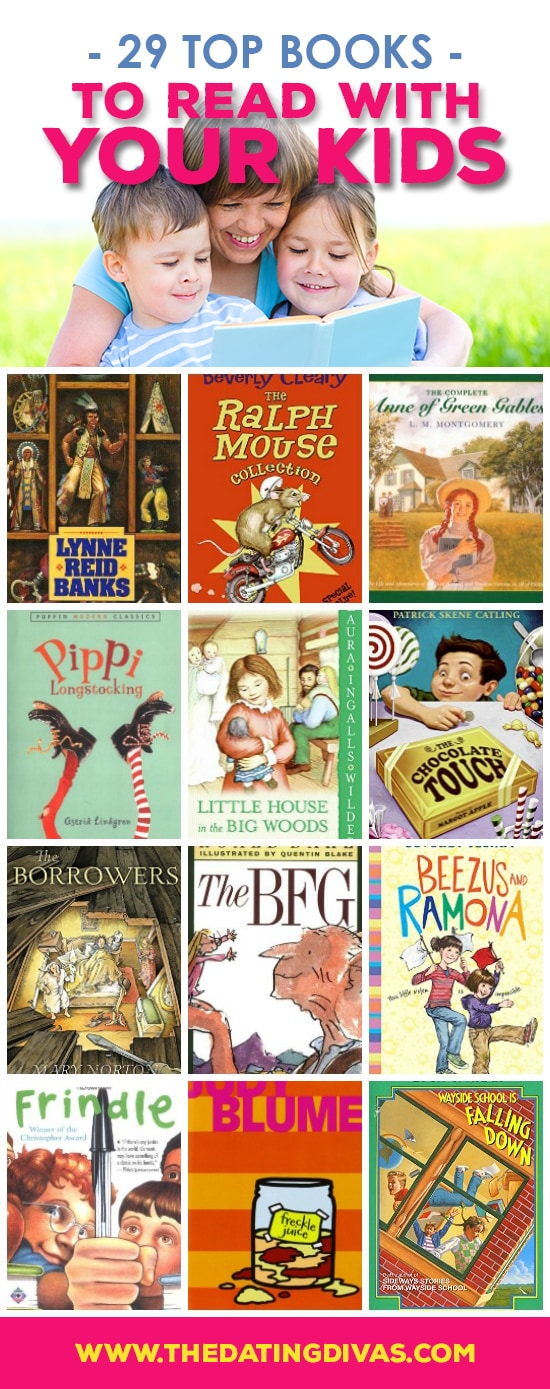 Family read aloud book list!