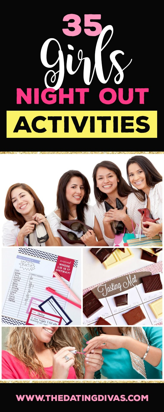 35 Activities for Girls Night Out