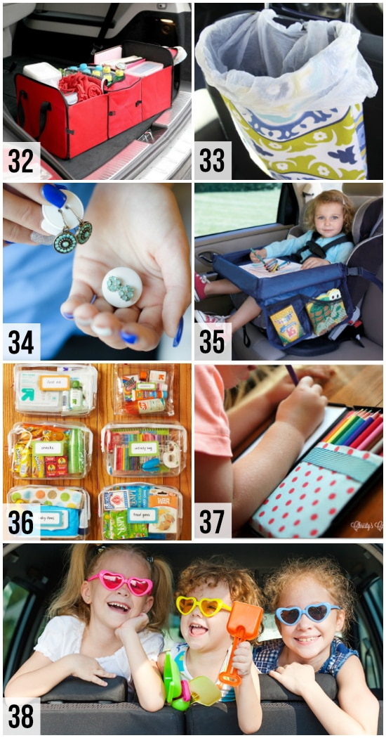 Organization Hacks for Road Trips