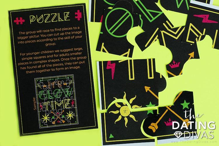 After-Dark Scavenger Hunt Puzzle