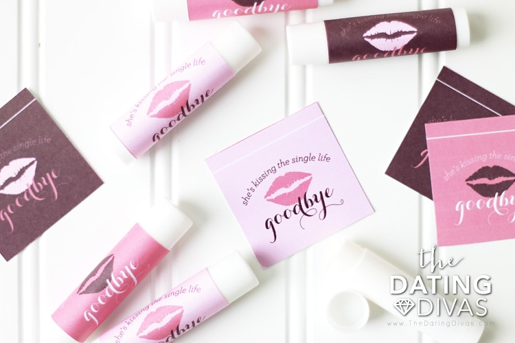 Bridal Shower Printables Chapstick Labels