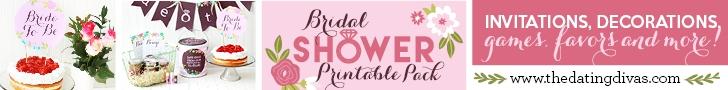 Bridal Shower Printables