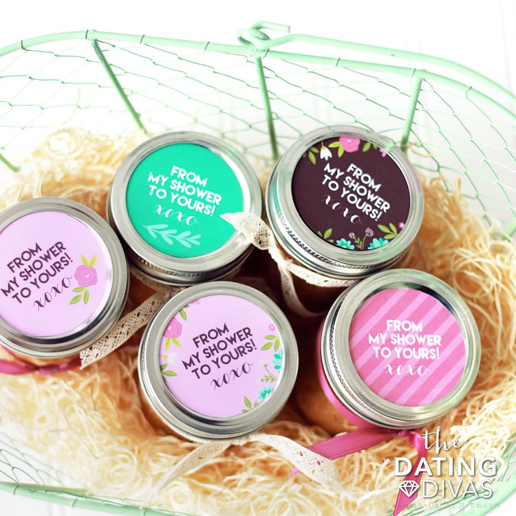 Bridal Shower Pack Jar Party Favors From My Shower To Yours