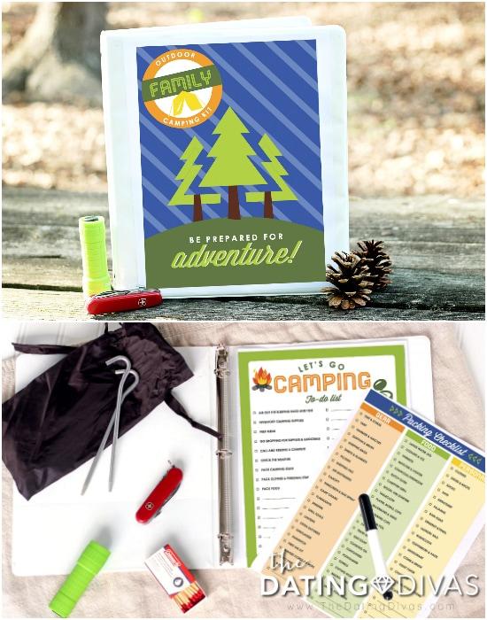 Camping Trip Planner Binder