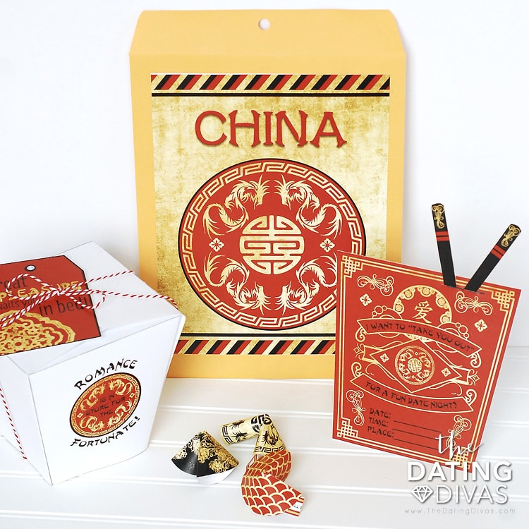 China Date Night Printables