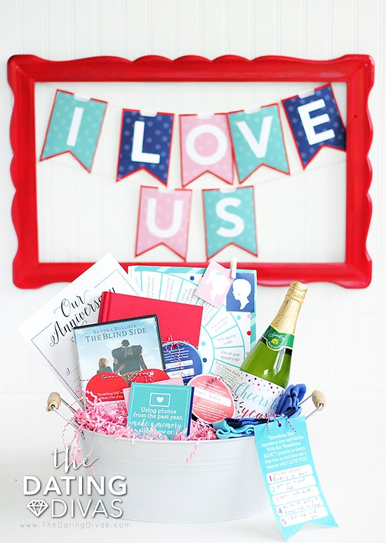 Week-long Love Countdown, cute anniversary idea!