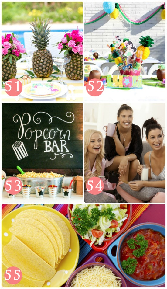 Girls Night Out Themes