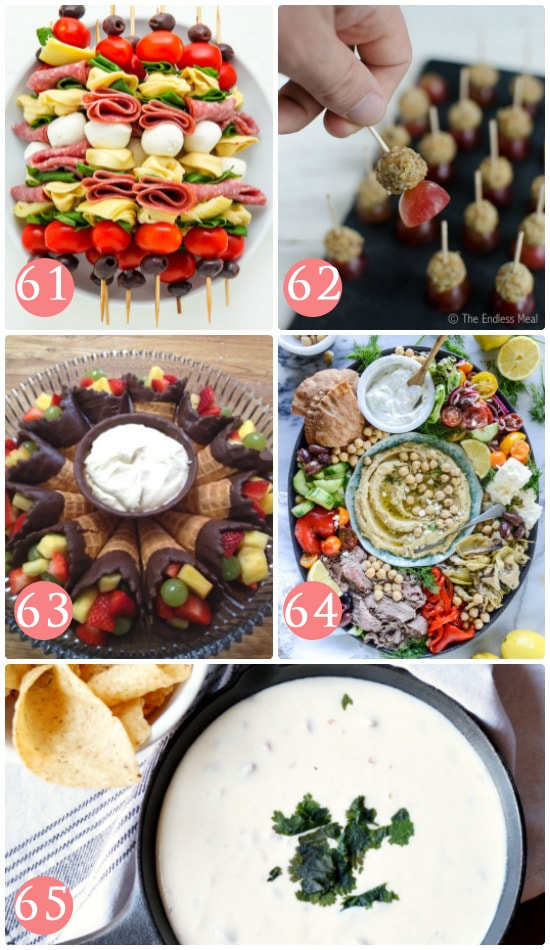 Appetizers for Girls Night Out