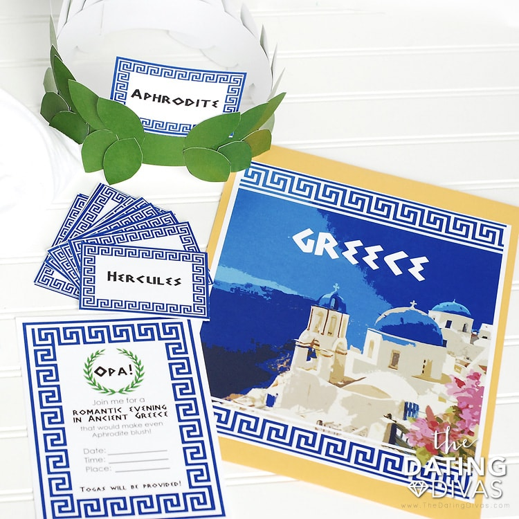 Greece Date Night Kit