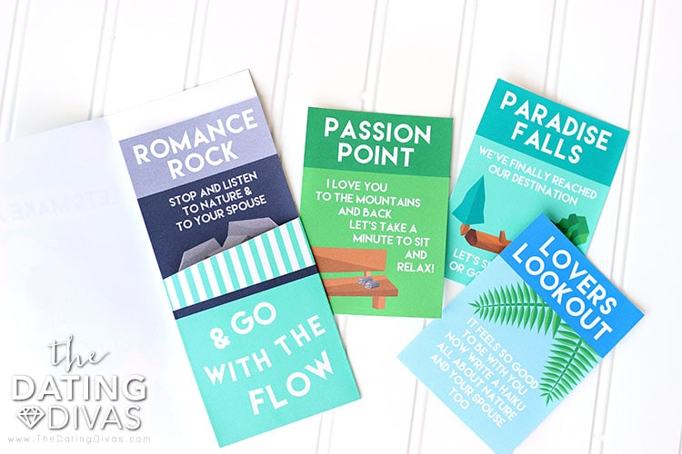 Hiking Date Activity Cards