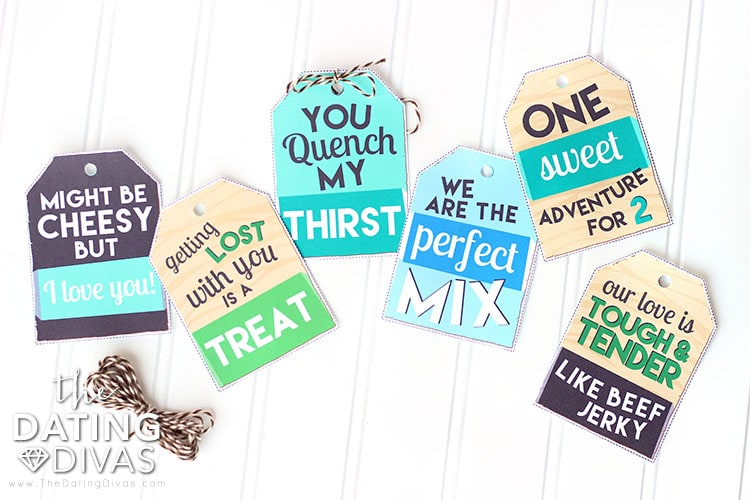 Hiking Date Snack Tags