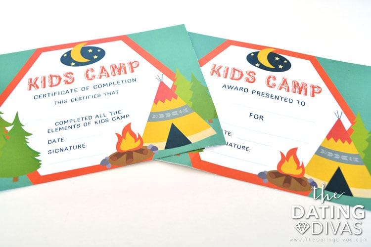 Awards for Kids Camp