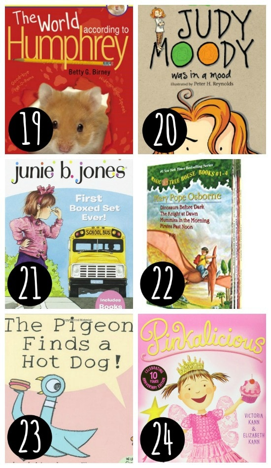 Fun book list for kids!