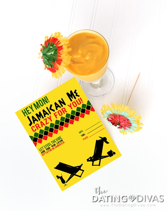 Jamaica Date Invitation