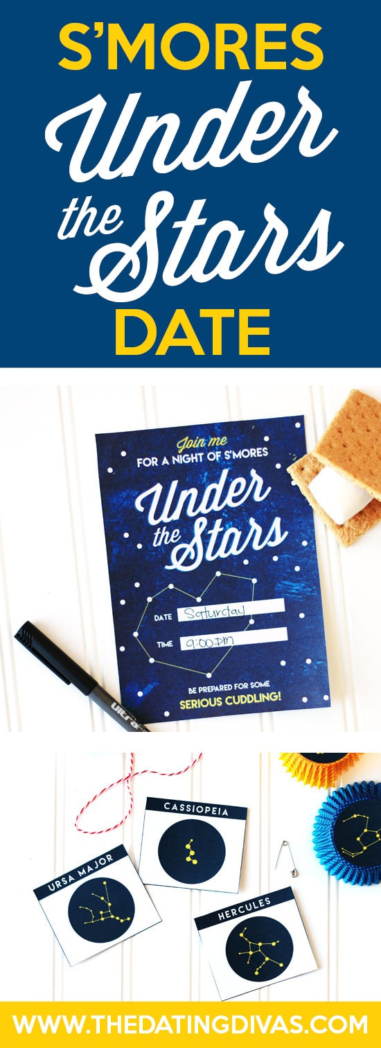 This Star Gazing Date Night is so romantic!! I'm packing my S'mores Basket tonight! #SmoresUnderTheStars #StarGazingDate #EasySummerDateIdea