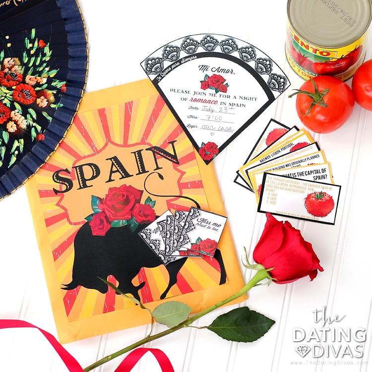 Spain Date Night Printables