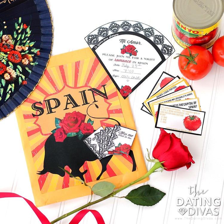 Spain Date Night Printables