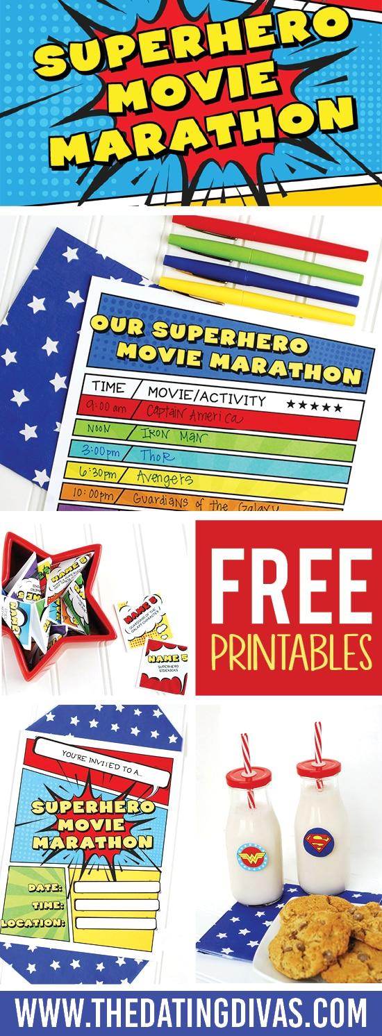 Superhero Movie Marathon