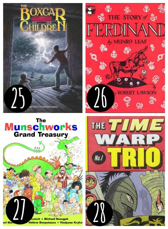Reading list for kids!