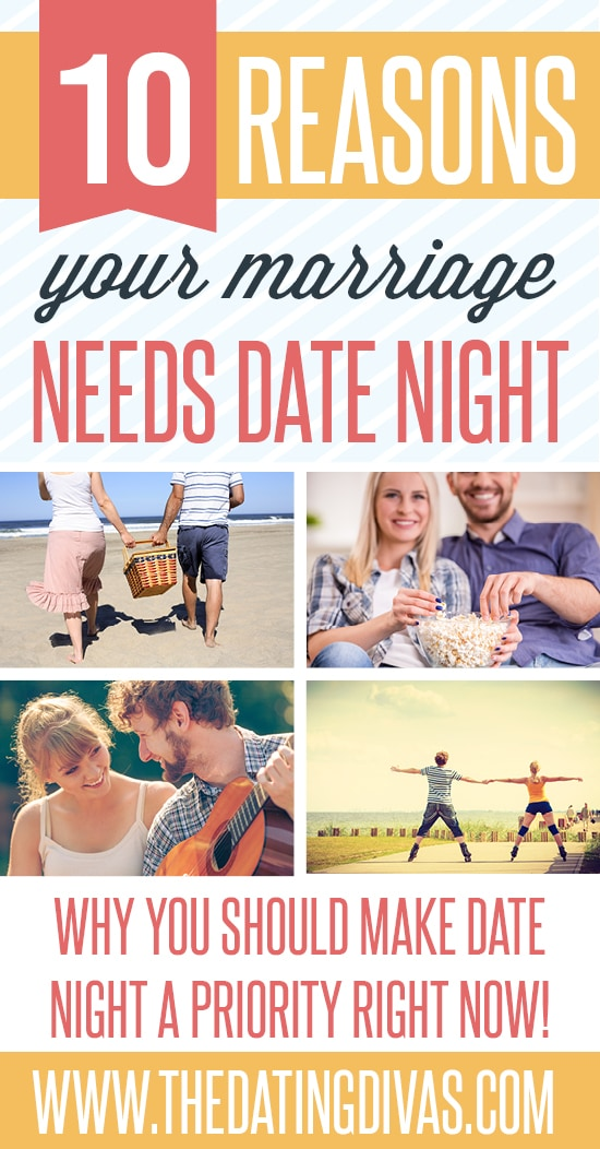 10 Reasons Your Marriage NEEDS Date Night