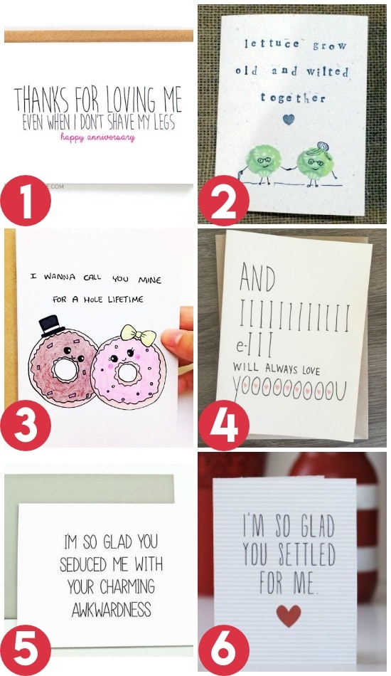 Anniversary Card Ideas For a Spouse